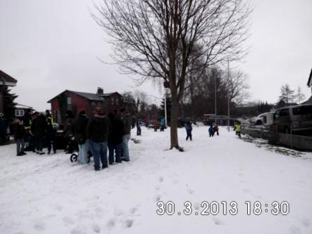Die Kinder hatten ihren Spaß im Schnee Foto: K. Kastenholz