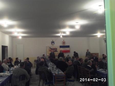 Lichtmessversammlung 2014 im neuen Dorfgemeinschaftshaus in Sarkwitz (Foto: R.Melchin)